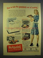 1946 Hotpoint Masterpiece Range Ad - Guesswork Out
