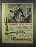 1946 Winchester Model 52, Model 75 Rifle Ad