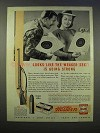 1946 Winchester Model 75 Target Rifle Ad - Weaker Sex