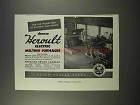 1946 United States Steel Ad - Heroult Melting Furnaces