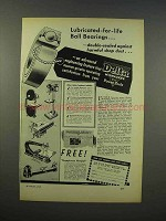 1946 Delta Power Tools Ad - Lubricated-For-Life