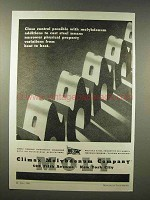 1945 Climax Molybdenum Ad - Close Control Possible