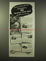 1945 Kennametal K6 Ad - Machines Cast Iron