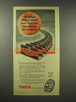 1945 Timken Tapered Roller Bearings Ad - Anti-Friction