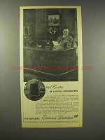 1945 Dictaphone Ad - Control Center of Corporation