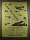 1944 Veeder-Root Counters Ad - Keep Finger On Plane