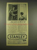 1944 Stanley Tools Ad - When You're As Old As I Am