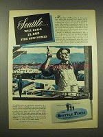 1944 The Seattle Times Newspaper Ad - New Homes