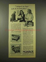 1944 Monroe LA-6-200-C Calculator, Accounting Ad