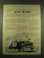 1944 Comptometer Machine Ad - Big Wind