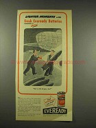 1944 Eveready Batteries Ad - Moments