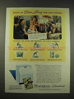 1944 Westinghouse Laundromat Ad - Clean Slip-Covers