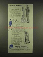 1944 Kotex Sanitary Napkins Ad - Are You In The Know?