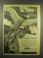 1944 Matson Cruise Ad - A Navigation of Friendships