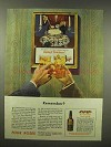1944 Four Roses Whiskey Ad - Remember?