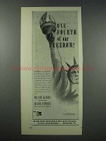 1943 Blaw-Knox Vertical Radiators Ad - Our Freedom