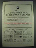 1943 AC Car Parts Ad - New Conservation Service