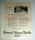 1923 General Motors Trucks Ad - Have a Low Price