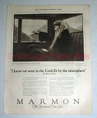 1923 Marmon Car Ad w/ Helen Keller - Art by Zichy