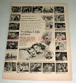 1944 The White Cliffs of Dover Movie Ad - Irene Dunne