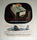 1944 WWII North American Aviation Ad - B-25 Mitchell