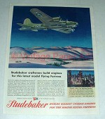 1944 WWII Studebaker B-17G Flying Fortress Ad!
