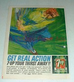 1964 7-Up Soda Ad - 7-up Your Thirst Away