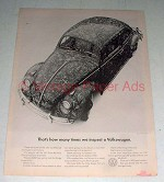 1965 Volkswagen VW Bug Beetle Ad - Times We Inspect