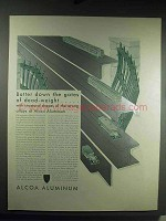 1931 Alcoa Aluminum Ad - Batter Down Dead-Weight