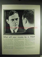 1931 Kellogg's All-Bran Cereal Ad - What Will Income Be