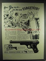 1937 Daisy Targeteer Air Pistol Ad - Here You Try It!