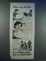 1942 Ivory Soap Ad - Robert, Leave the Table
