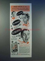 1943 General Mills Kix Cereal Ad - Puffed-Flakes