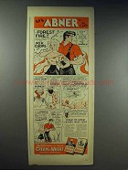 1943 Cream of Wheat Cereal Ad - Li'l Abner by Al Capp