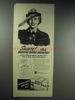 1944 Nabisco Shredded Wheat Cereal Ad - Salute!