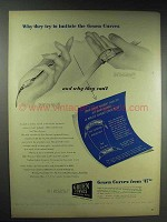 1944 Gruen Curvex Watch Ad - They Try to Imitate