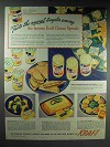 1947 Kraft Cheese Spreads Ad - The Newest Tempter