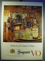 1956 Seagram's V.O. Canadian Whisky Ad - The Company