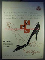 1957 Naturalizer Fabulous Shoe Ad - A Soft Pump