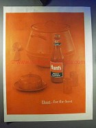 1959 Hunt's Tomato Catsup Ad - Hunt For the Best