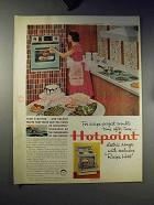 1959 Hotpoint Range Ad - Recipe-Perfect Results