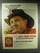 1965 Lucky Strike Cigarettes Ad - Won't Take Away Taste