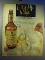 1967 Seagram's V.O. Canadian Whisky Ad - Host Asks