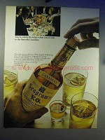 1967 Seagram's V.O. Canadian Whisky Ad - Bit Richer