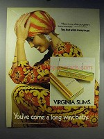 1971 Virginia Slims Cigarettes Ad - No Other Purgatory