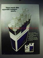 1971 Parliament Cigarettes Ad - Like Cigarette Holders