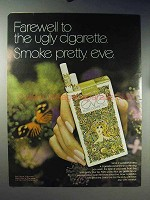 1971 Eve Cigarettes Ad - Farewell To The Ugly