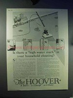 1924 Hoover Vaccum Cleaner Ad - A High Water Mark