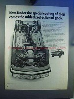 1969 Volvo Car Ad - Coating of Glop Protection of Gook