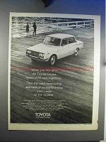 1969 Toyota Corona Car Ad - Pretend It's Expensive